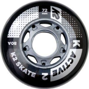 K2 Skates Rollen 72mm Active Wheel 8 - Inliner Ersatzrollen