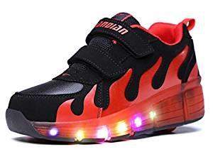 Schuhe mit Rollen - LED