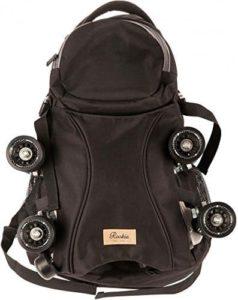 Rookie Skatepack Bag Rucksack für Rollschuhe black Skate Rucksack