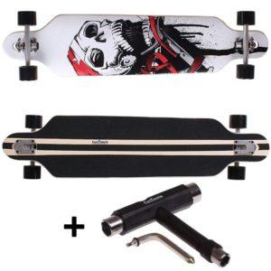 Skateboard Test - Satelite Totenkopf