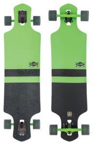 Longboard Cruiser in grün
